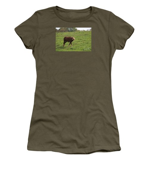 Women's T-Shirt (Junior Cut) featuring the photograph Bow  by Yumi Johnson