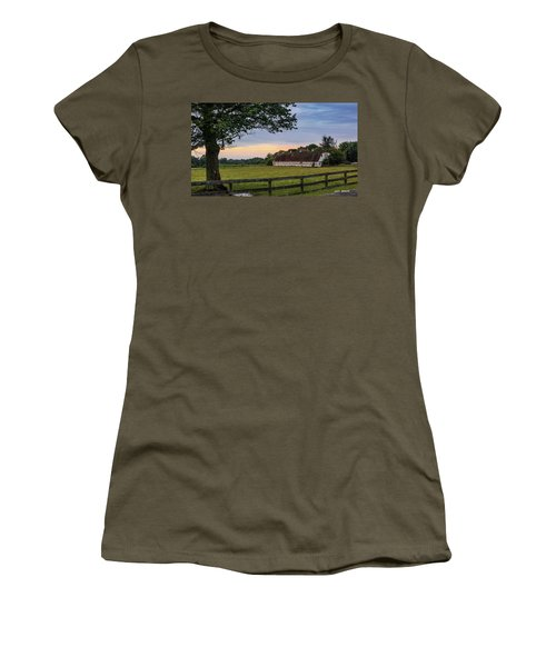 Boxwood Farm Women's T-Shirt (Athletic Fit)