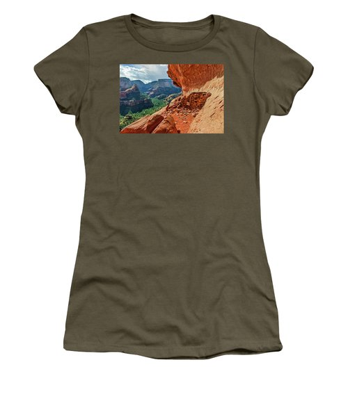 Boynton Canyon 08-174 Women's T-Shirt (Athletic Fit)