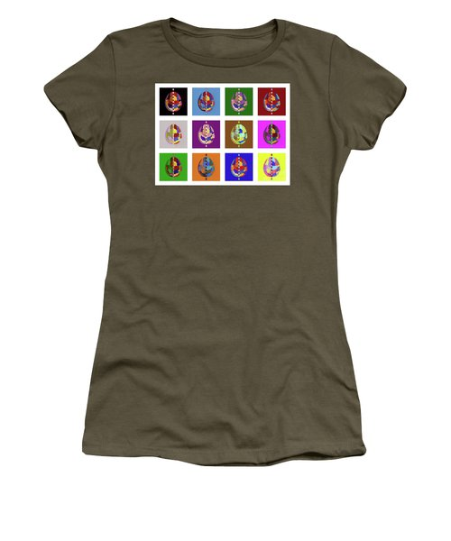 Brainbow Women's T-Shirt (Athletic Fit)