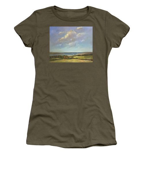 Brancaster Staithes, Norfolk Women's T-Shirt (Athletic Fit)