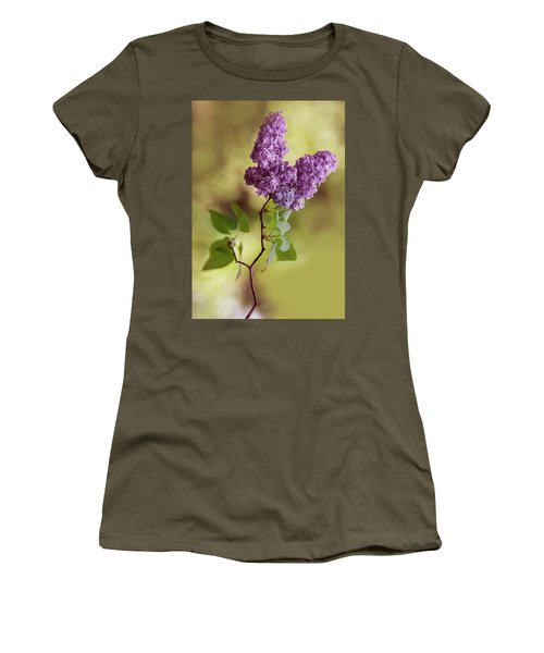 Branch Of Fresh Violet Lilac Women's T-Shirt