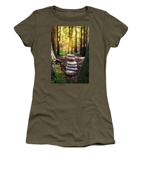 Women's T-Shirt (Junior Cut) featuring the photograph Brand New Day by Marco Oliveira