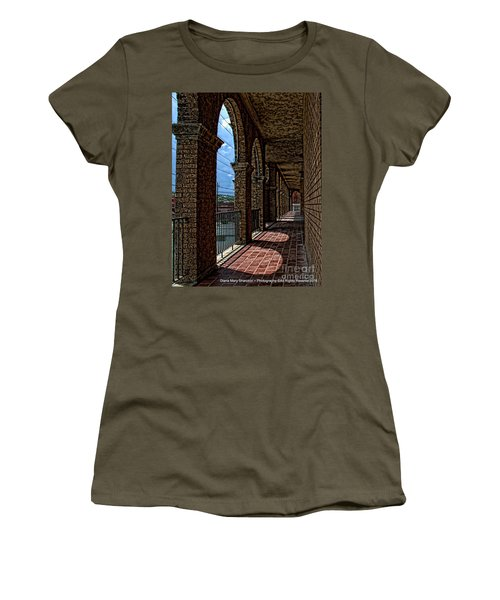 Breezway On The Baker Women's T-Shirt (Junior Cut) by Diana Mary Sharpton