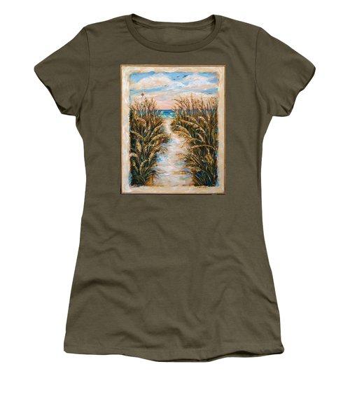 Breezy Sea Oats Women's T-Shirt
