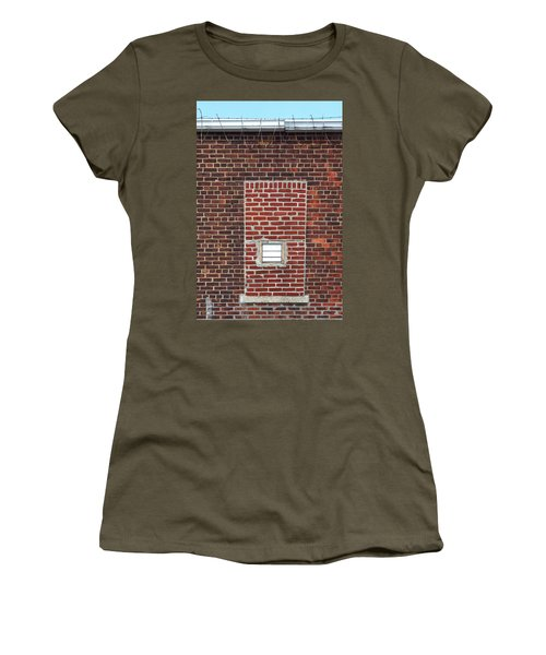 Brick And Barbed Wire Women's T-Shirt (Athletic Fit)