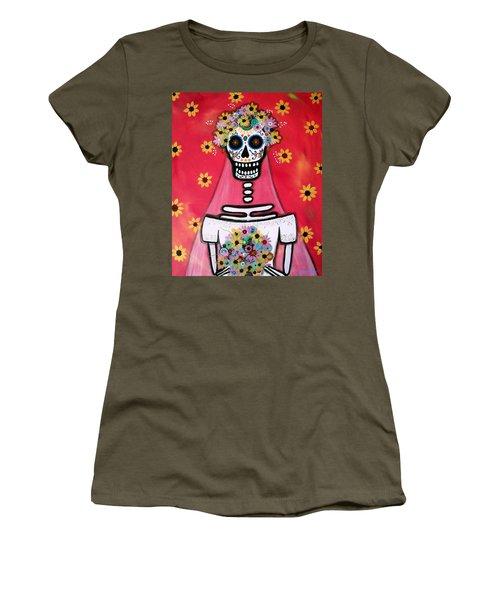 Bridezilla Dia De Los Muertos Women's T-Shirt