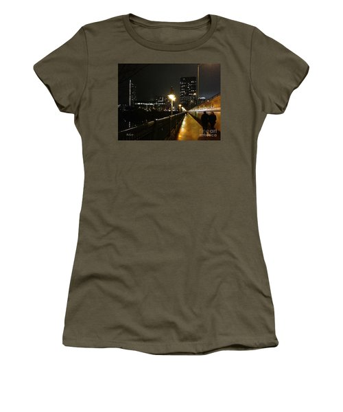 Bridge Into The Night Women's T-Shirt (Athletic Fit)