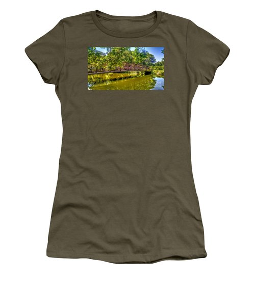 Bridge Over Delaware Canal At Colonial Park Women's T-Shirt