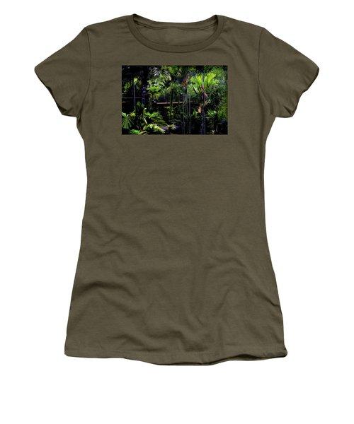 Bridge Over Nong Nooch Women's T-Shirt (Junior Cut) by Joseph Hollingsworth