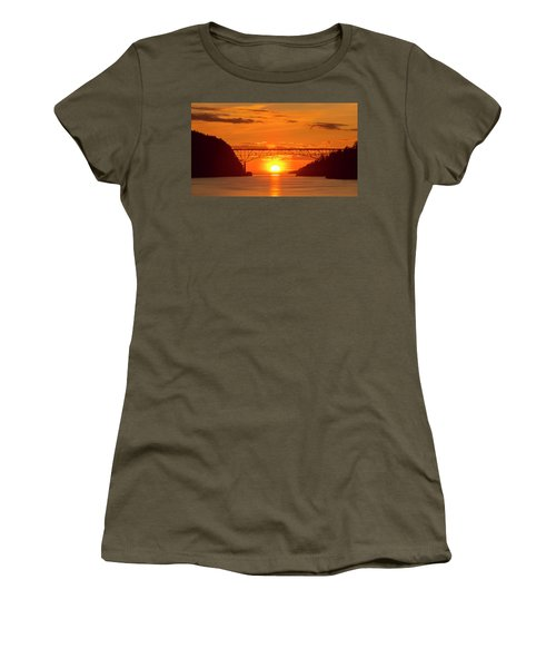 Bridge Sunset Women's T-Shirt