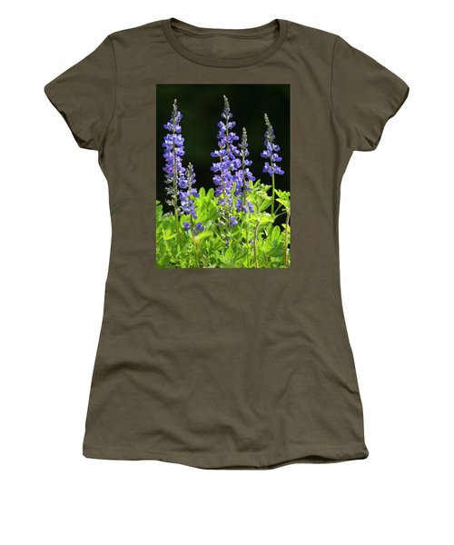 Brilliant Lupines Women's T-Shirt (Athletic Fit)