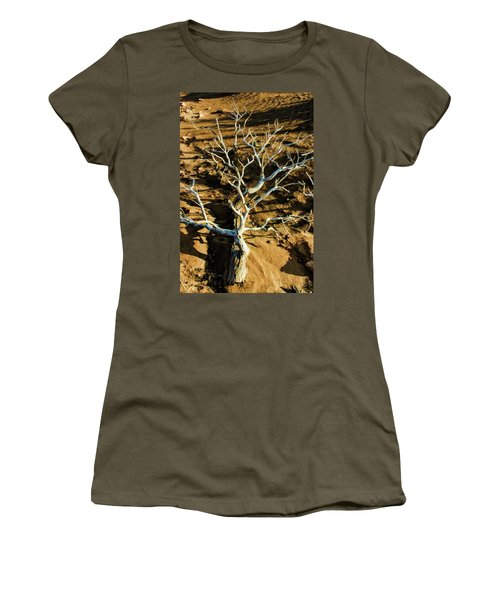 Brins Mesa 07-104 Stripped Bare Women's T-Shirt (Junior Cut) by Scott McAllister