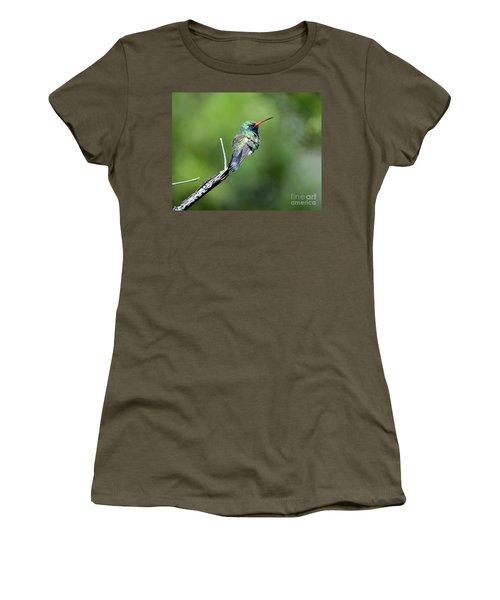 Broad-billed Hummingbird Women's T-Shirt (Athletic Fit)