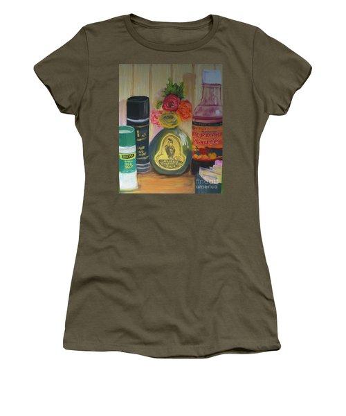 Broken Egg Tableart Women's T-Shirt (Athletic Fit)