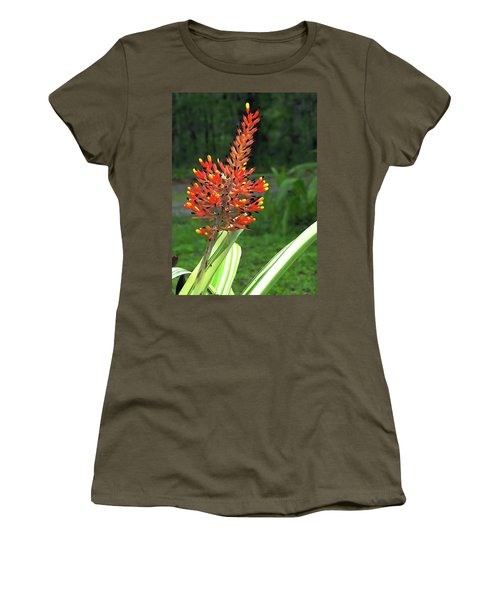 Bromeliad Women's T-Shirt (Athletic Fit)
