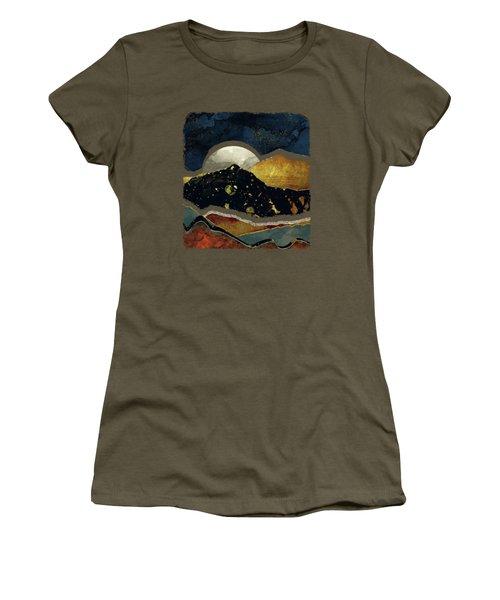 Bronze Night Women's T-Shirt (Athletic Fit)
