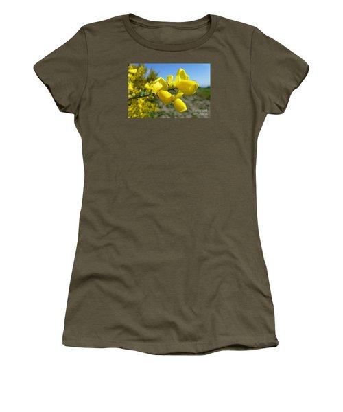 Broom In Bloom 4 Women's T-Shirt (Junior Cut) by Jean Bernard Roussilhe