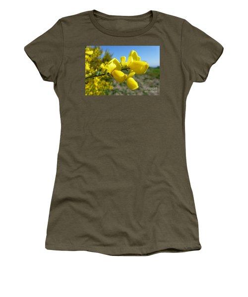 Broom In Bloom 4 Women's T-Shirt