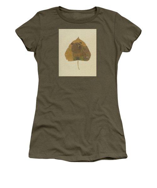 Brow Bear #2 Women's T-Shirt (Junior Cut) by Ralph Root