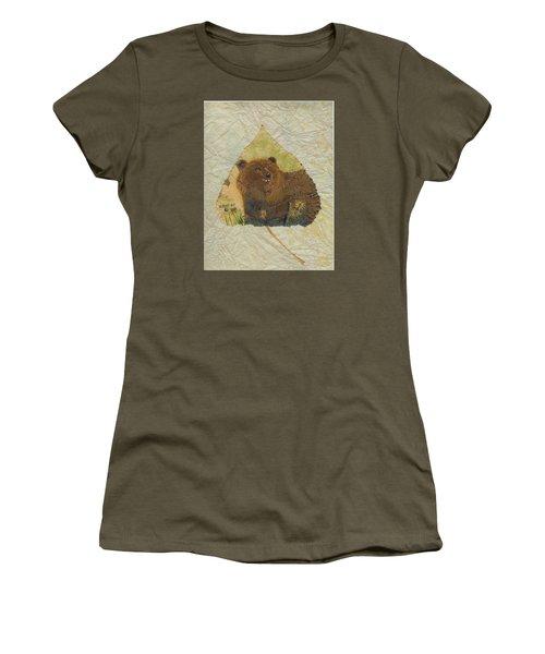 Brown Bear Women's T-Shirt (Junior Cut) by Ralph Root