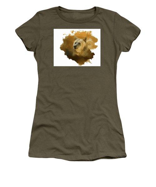 Brown Bear Women's T-Shirt (Junior Cut) by Steven Richardson