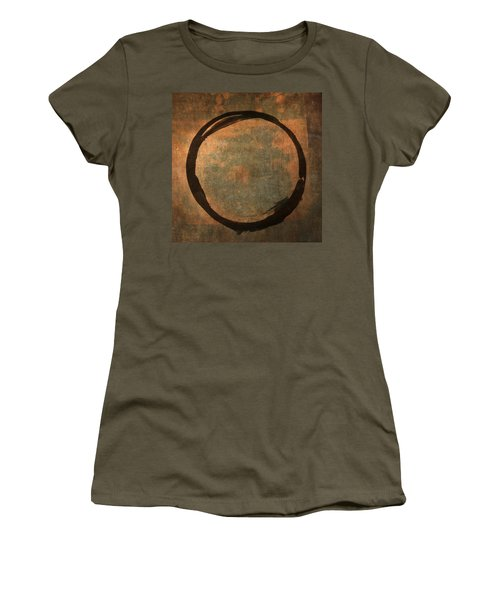Brown Enso Women's T-Shirt (Athletic Fit)
