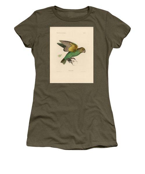 Brown-headed Parrot, Piocephalus Cryptoxanthus Women's T-Shirt