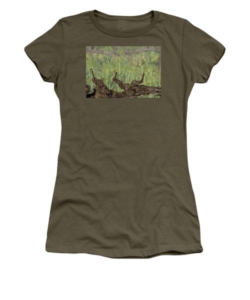 Women's T-Shirt (Athletic Fit) featuring the photograph Budbreak In Carneros by Carol Lynn Coronios