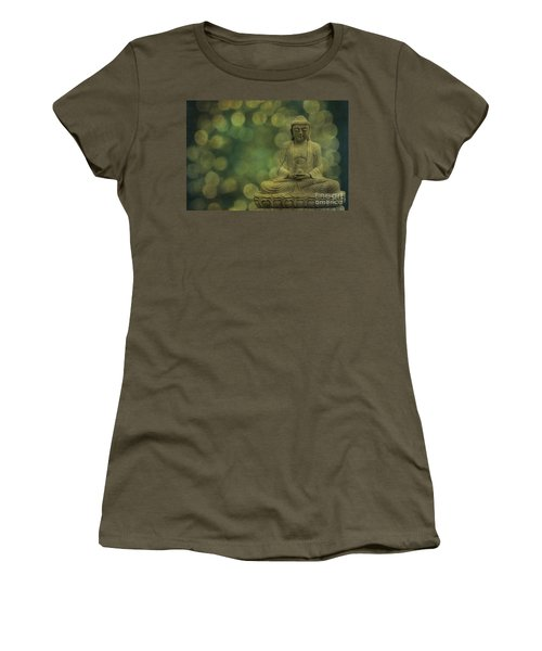 Buddha Light Gold Women's T-Shirt
