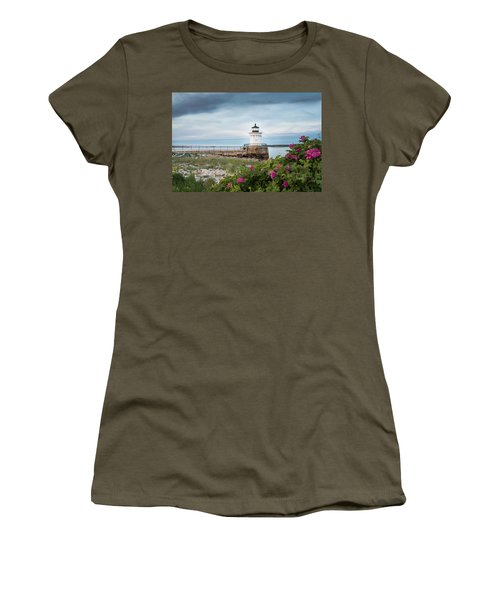 Bug Light Blooms Women's T-Shirt