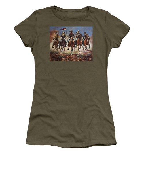 Bugler And The Guidon Women's T-Shirt
