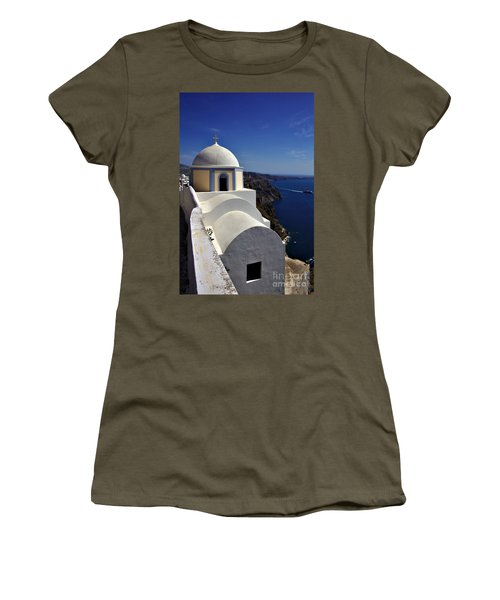Building In Fira Women's T-Shirt