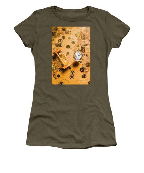 Building The Wayback Machine Women's T-Shirt