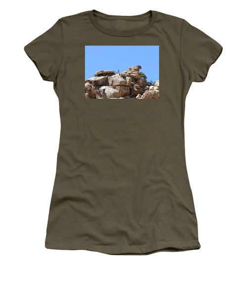 Bull From Joshua Tree Women's T-Shirt (Athletic Fit)