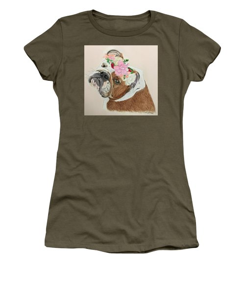 Bulldog Bridesmaid Women's T-Shirt