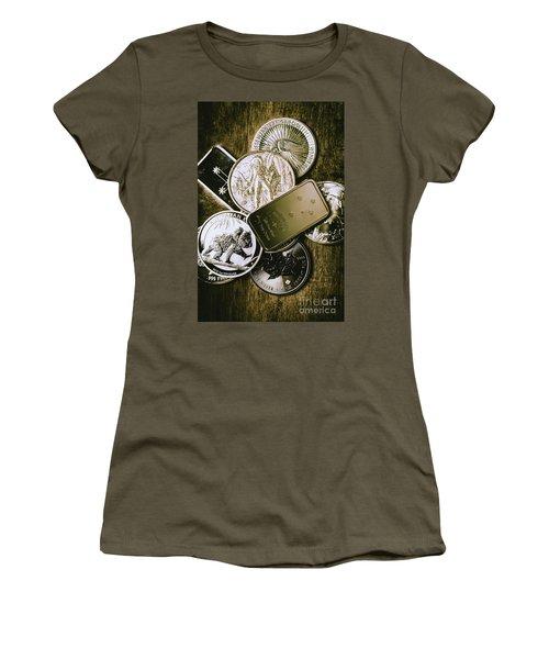Bullion Wealth Stockpile Women's T-Shirt