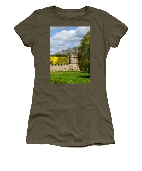 Burghley House Fortifications Women's T-Shirt (Athletic Fit)