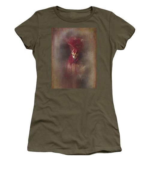 Burgundy In Venice Women's T-Shirt (Athletic Fit)