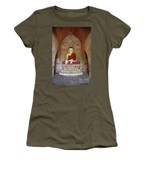 Burma_d2078 Women's T-Shirt (Junior Cut) by Craig Lovell