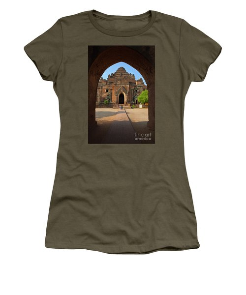 Burma_d2095 Women's T-Shirt (Junior Cut) by Craig Lovell