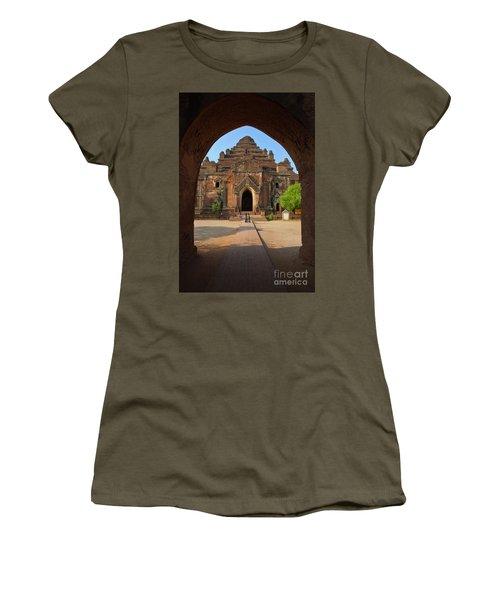 Women's T-Shirt (Junior Cut) featuring the photograph Burma_d2095 by Craig Lovell