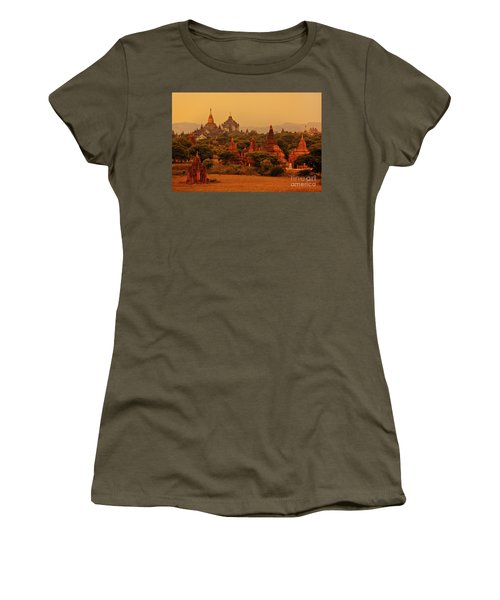 Burma_d2136 Women's T-Shirt (Junior Cut) by Craig Lovell