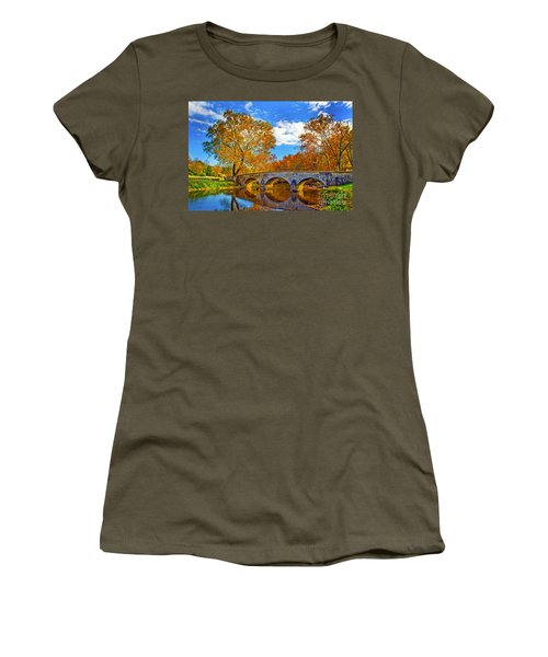 Burnside Bridge At Antietam Women's T-Shirt