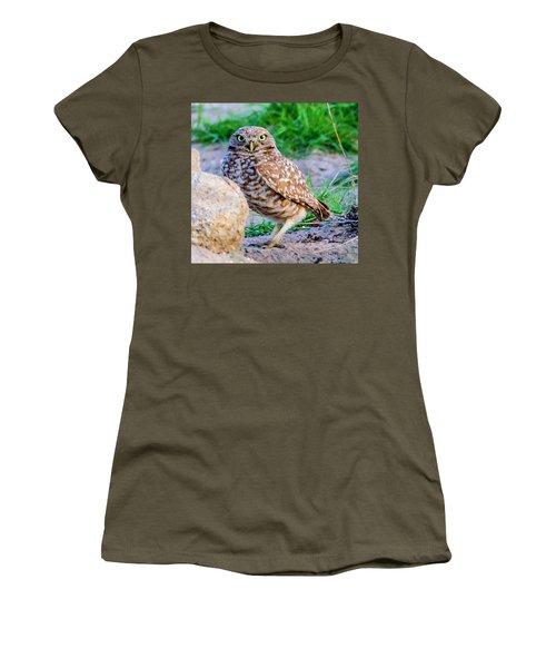 Burrowing Owl Women's T-Shirt