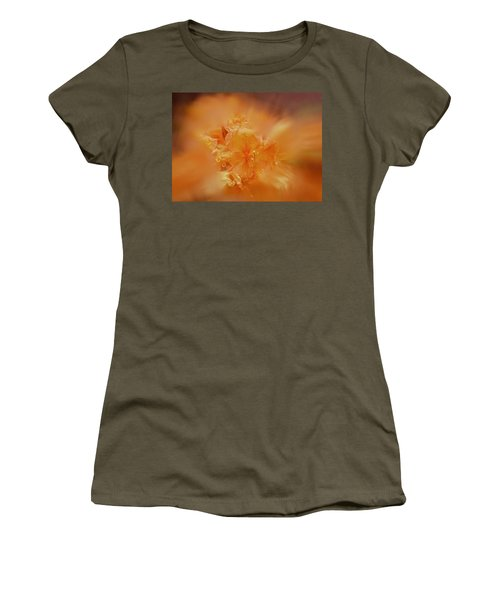 Burst Of Gold Women's T-Shirt (Athletic Fit)