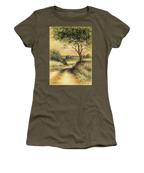 Bushveld Women's T-Shirt (Junior Cut) by Heidi Kriel