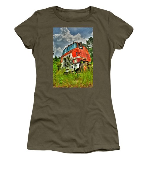 Busted And Rusted Women's T-Shirt