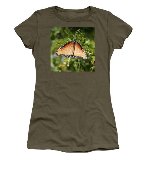 Butterfly 6 Women's T-Shirt (Athletic Fit)