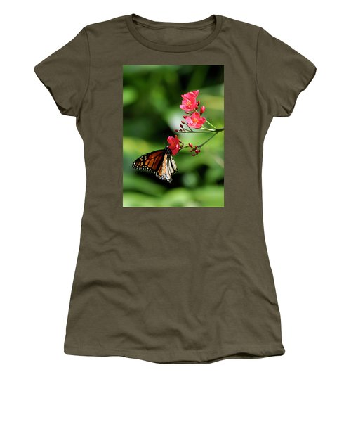 Butterfly And Blossom Women's T-Shirt